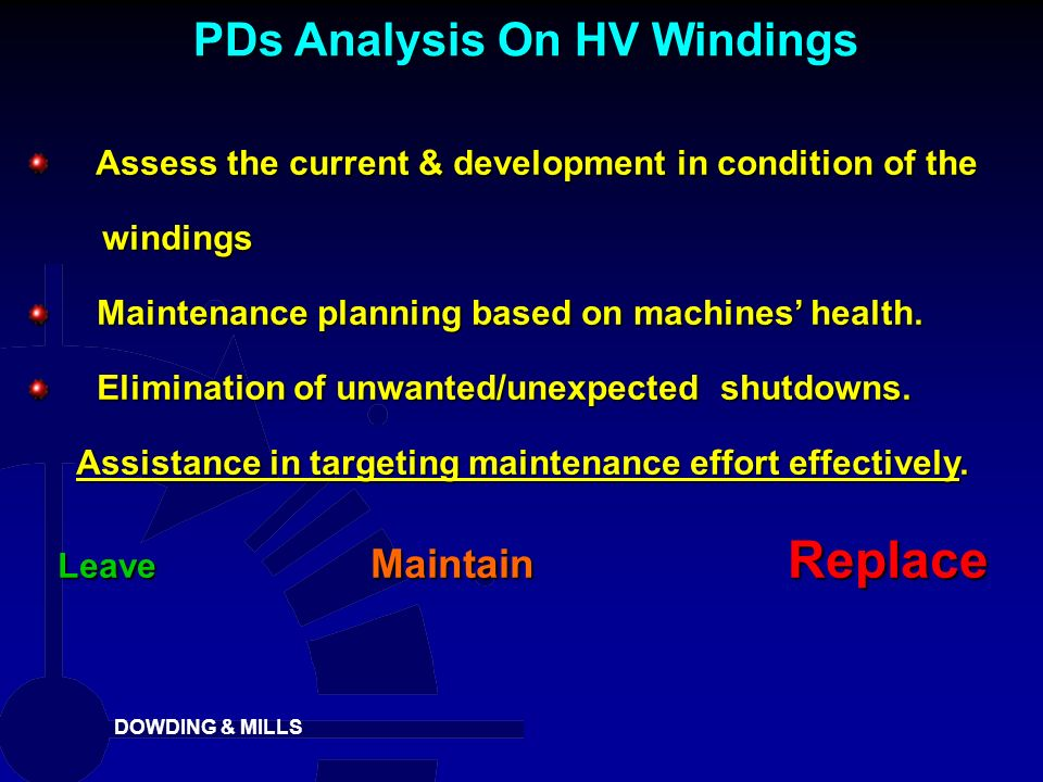 PDs Analysis On HV Windings