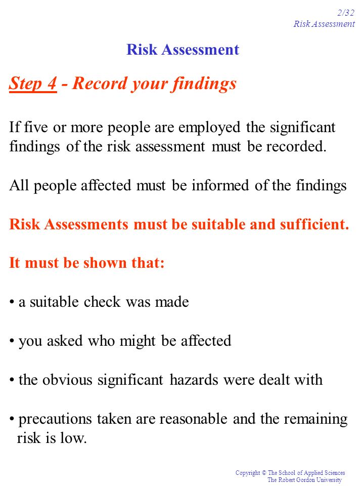 Step 4 - Record your findings