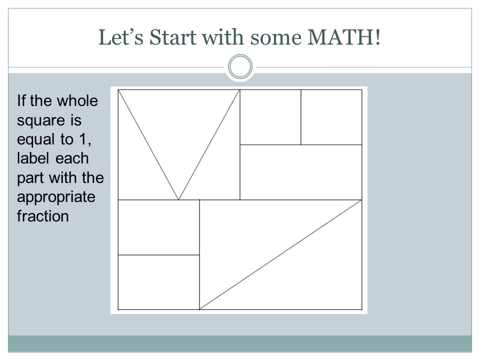 Grade Three: Fractions Unit 7 Finding Fair Shares - ppt video online ...