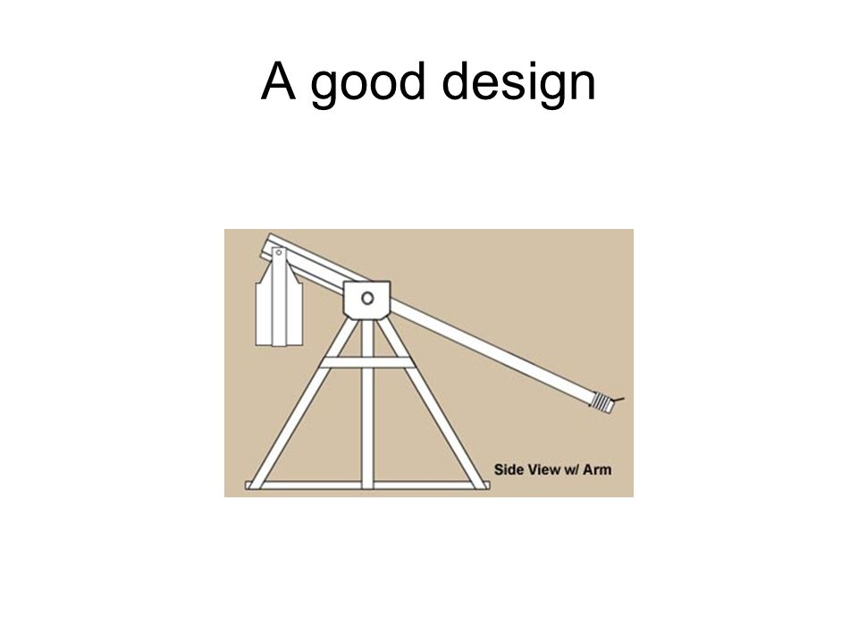 A good design