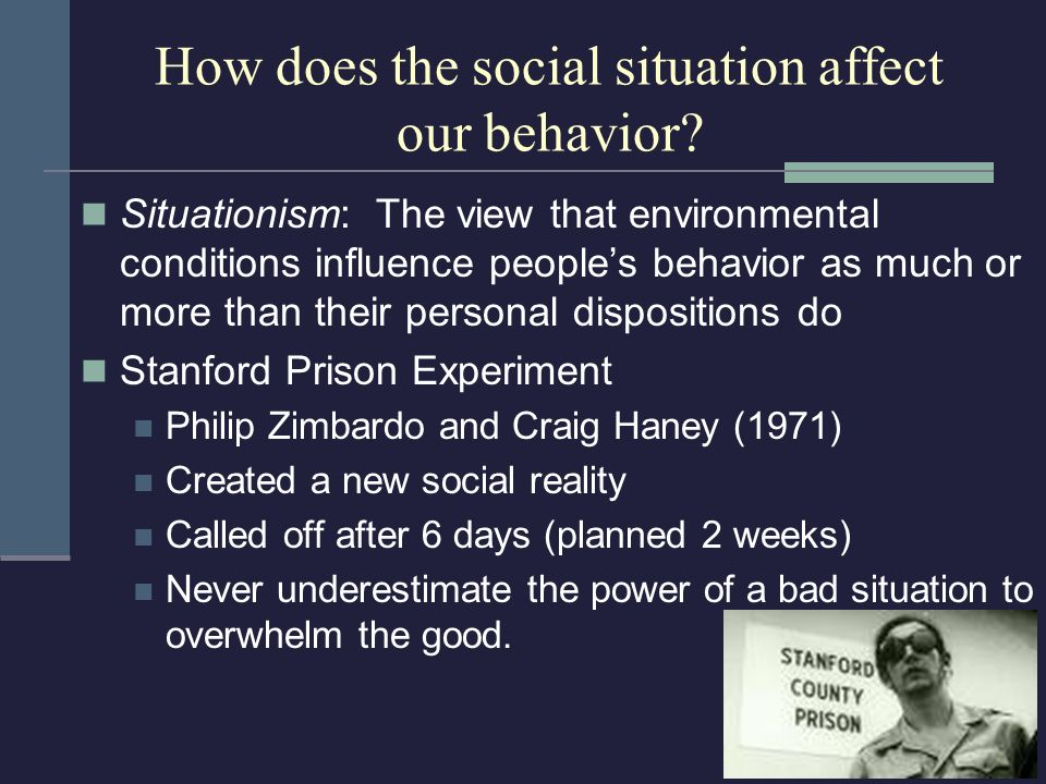Social and Cultural Norms Affect Behaviour