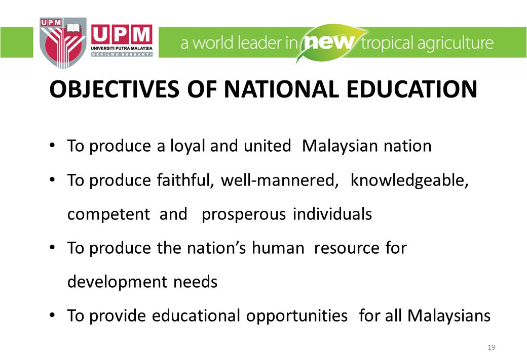 Quality education: A tool for national development