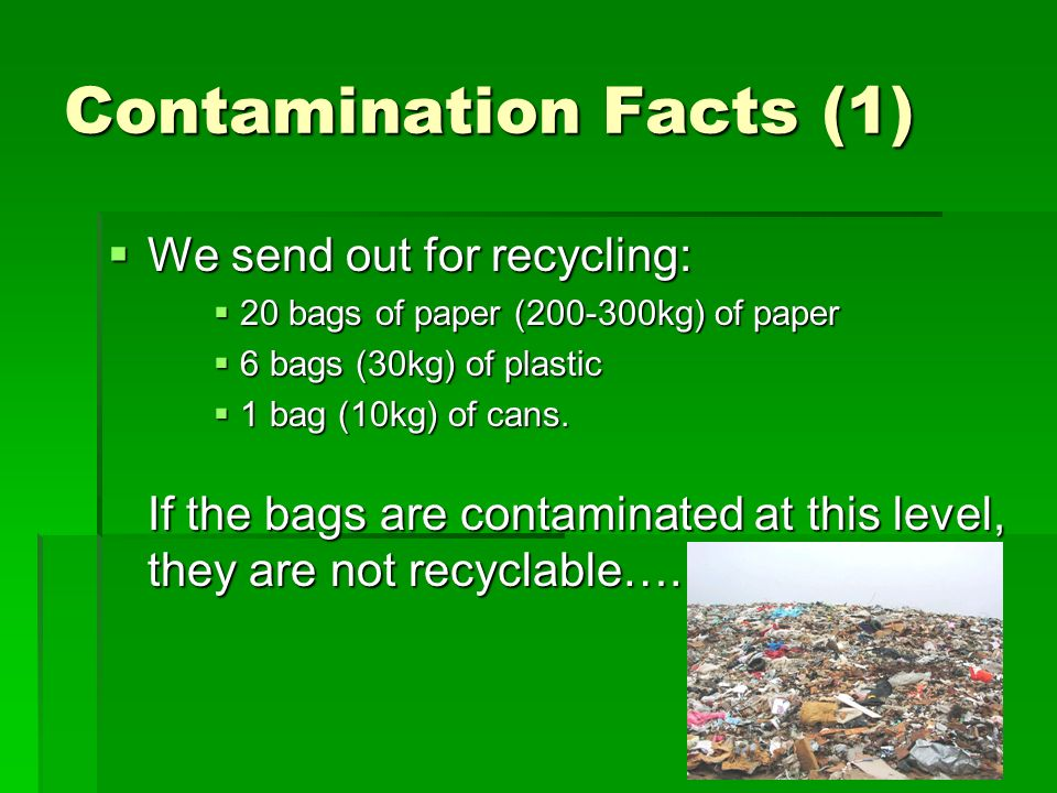 Contamination Facts (1)