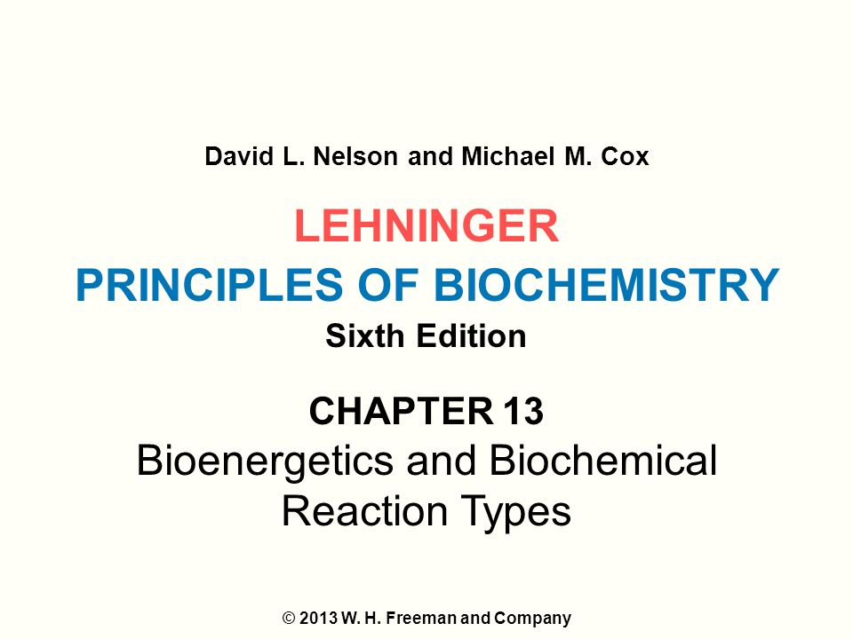 principles of biochemistry 6th edition lehninger pdf