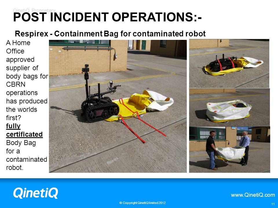 POST INCIDENT OPERATIONS:-