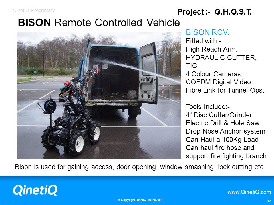 BISON Remote Controlled Vehicle