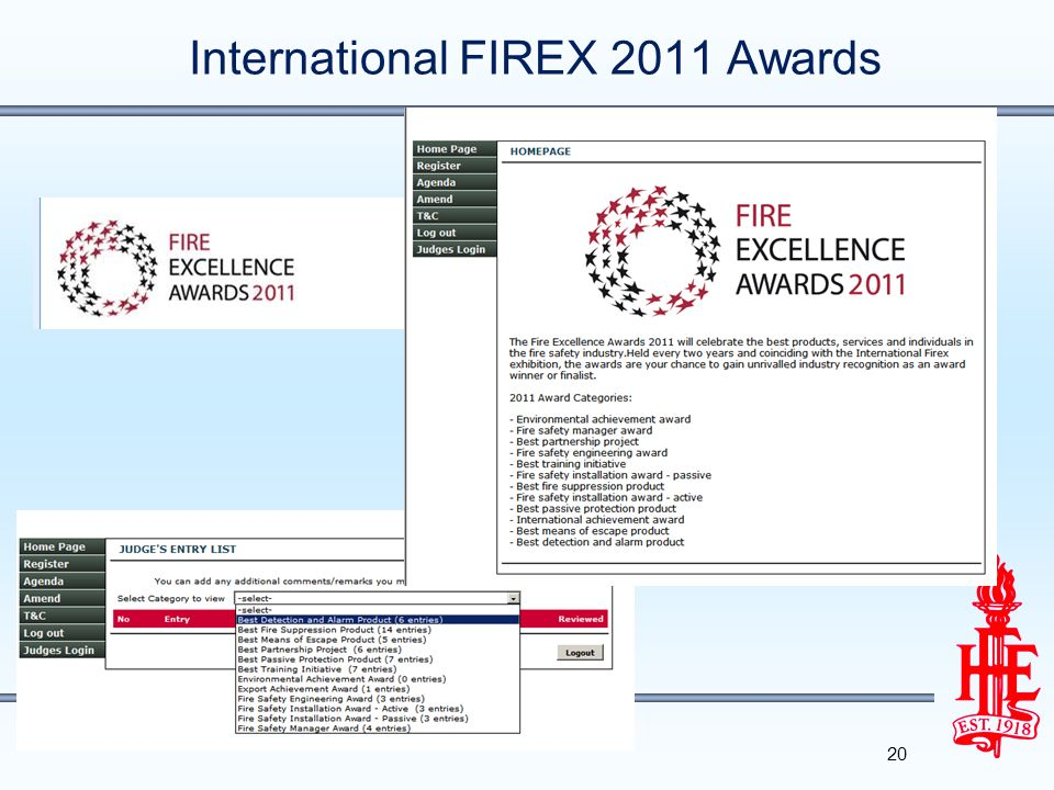 International FIREX 2011 Awards