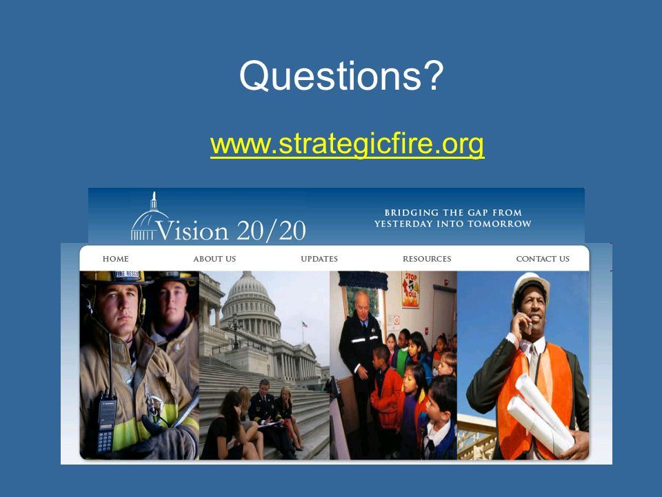 Questions www.strategicfire.org