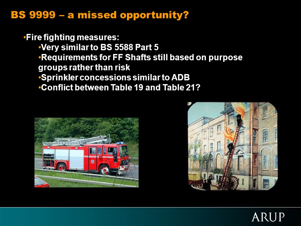 BS 9999 – a missed opportunity