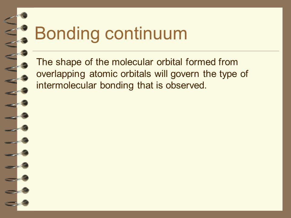 Bonding continuum