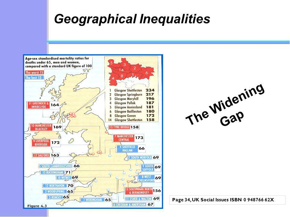 Geographical Inequalities
