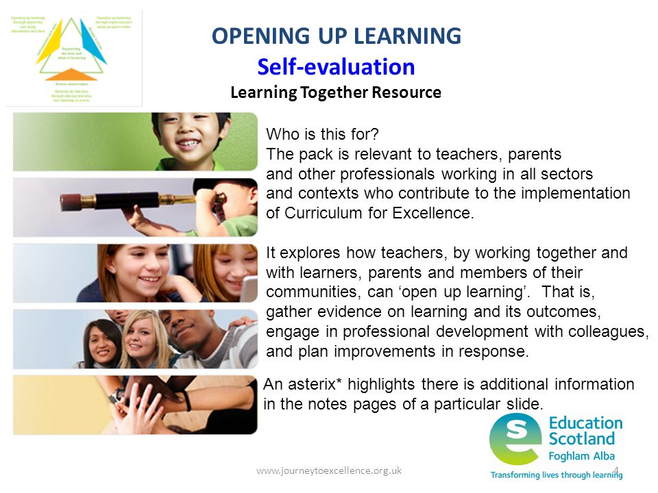 Learning Together Resource
