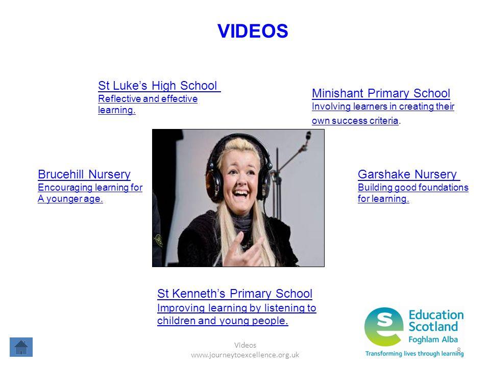 Videos www.journeytoexcellence.org.uk