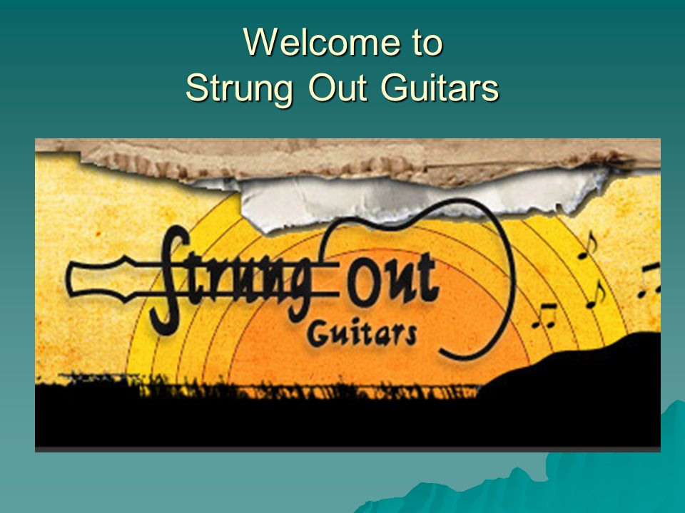 Welcome to Strung Out Guitars