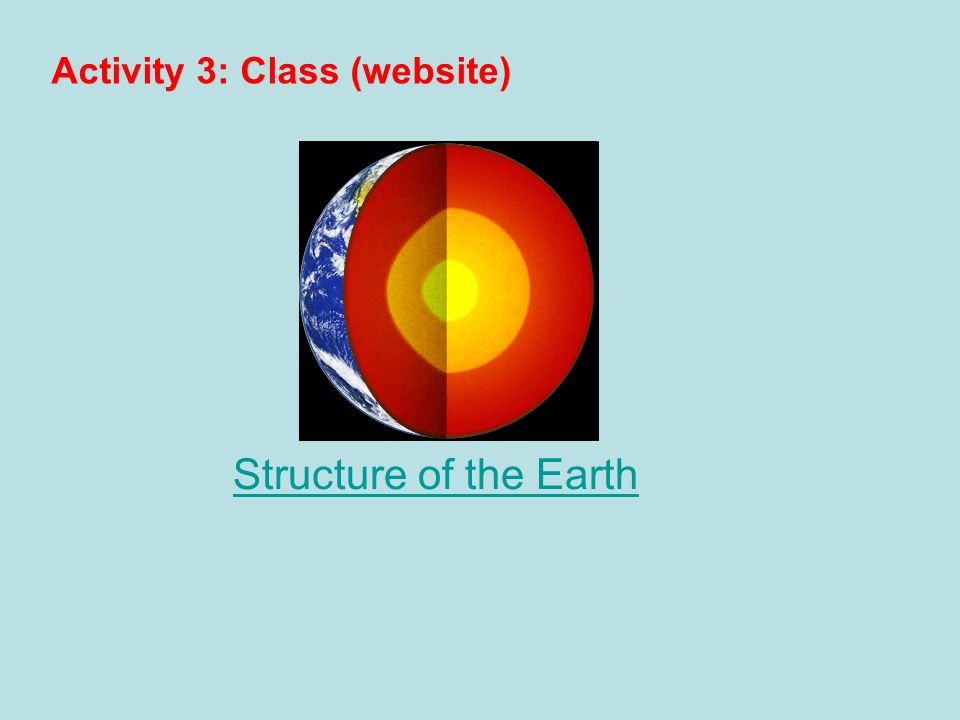 Activity 3: Class (website)