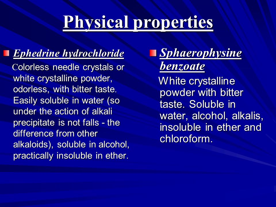 Physical Properties Of Sodium Benzoate