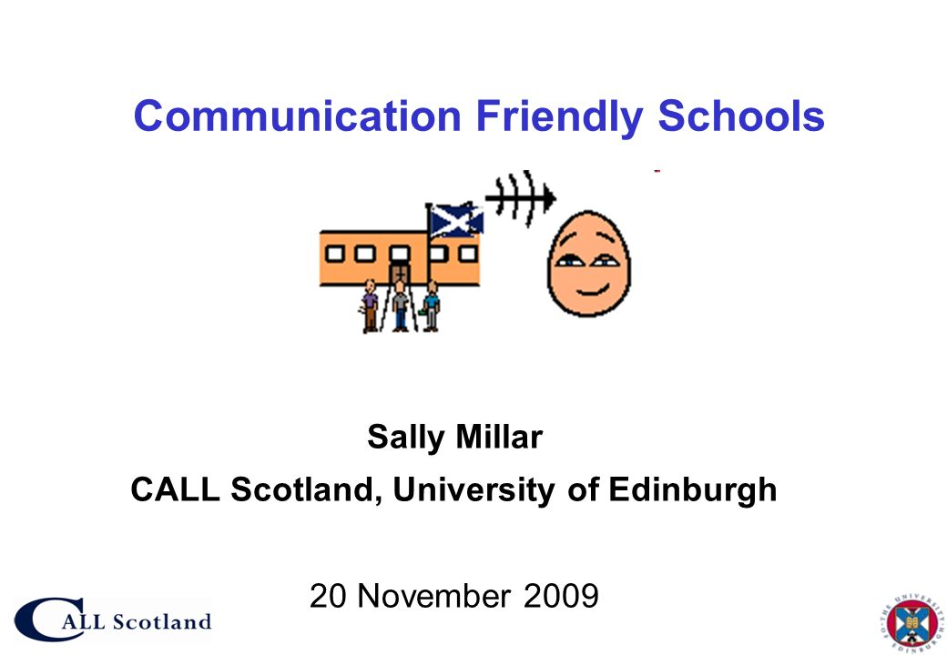 Communication Friendly Schools