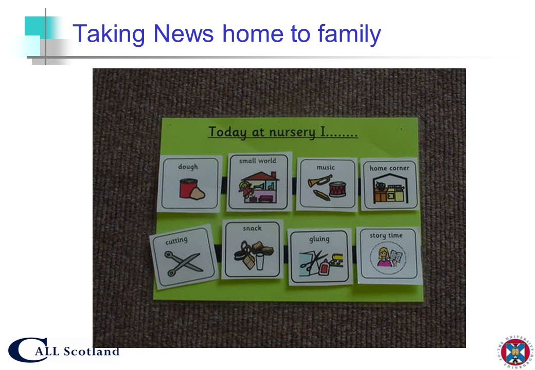Taking News home to family