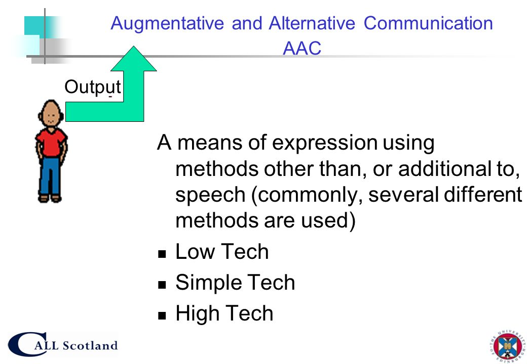 Augmentative and Alternative Communication AAC
