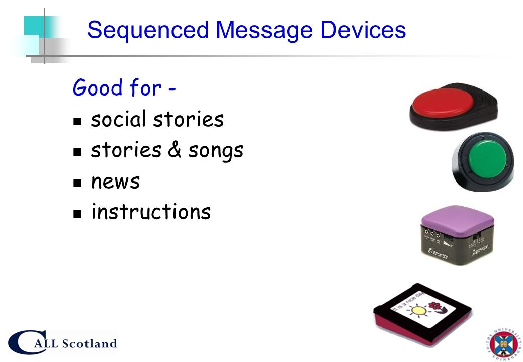 Sequenced Message Devices