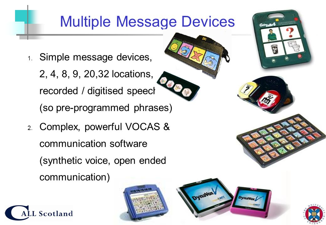 Multiple Message Devices