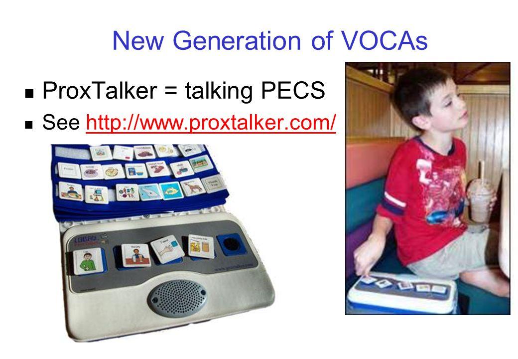 New Generation of VOCAs