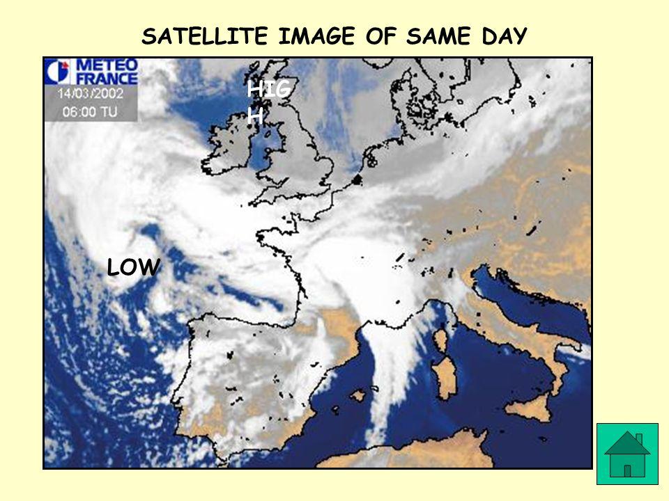 SATELLITE IMAGE OF SAME DAY