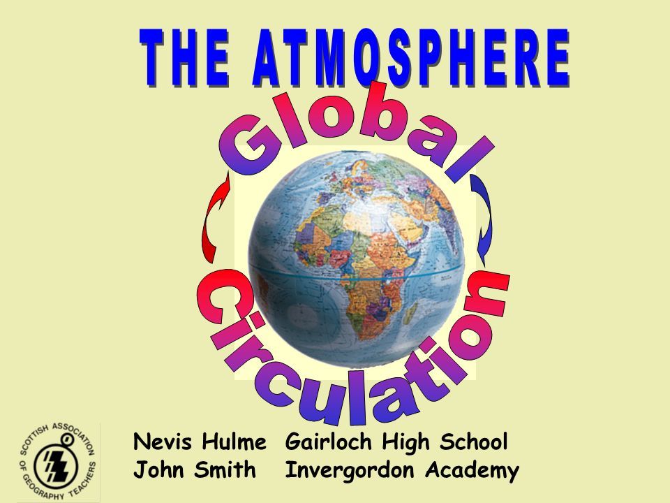THE ATMOSPHERE Global Circulation