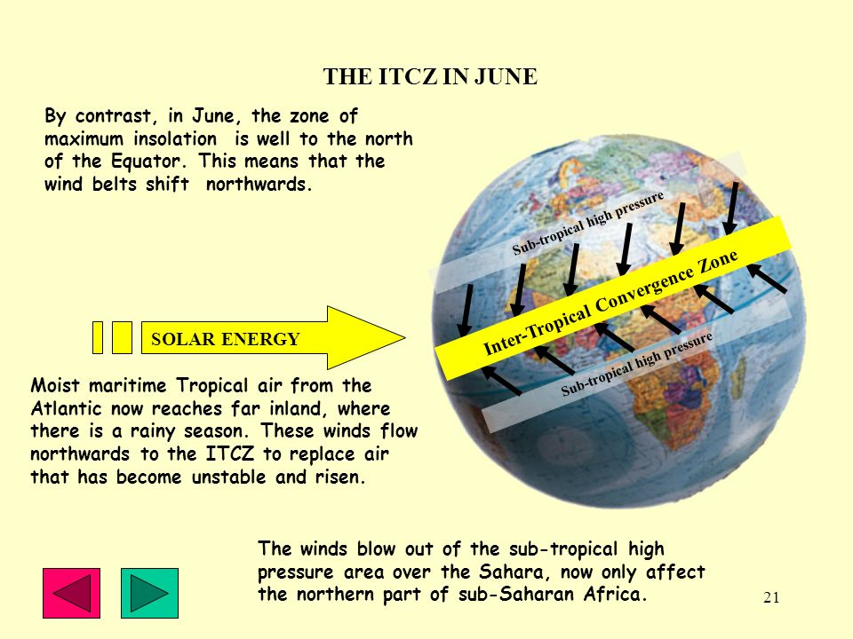 THE ITCZ IN JUNE
