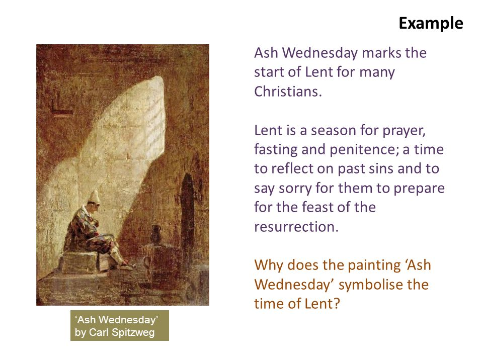Example Ash Wednesday marks the start of Lent for many Christians.