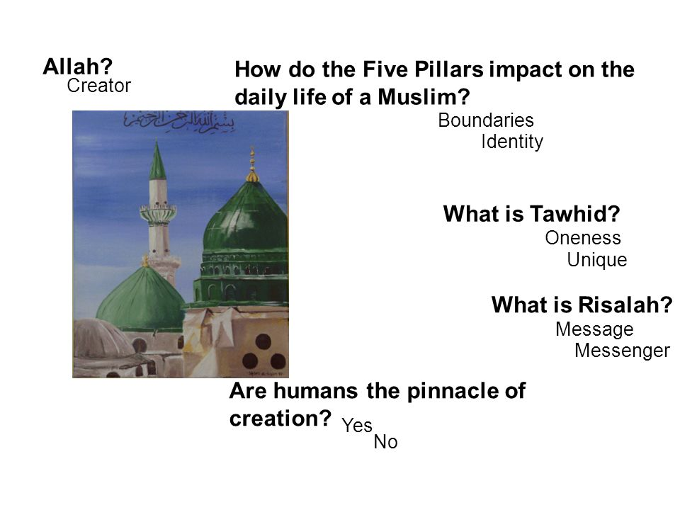 How do the Five Pillars impact on the daily life of a Muslim
