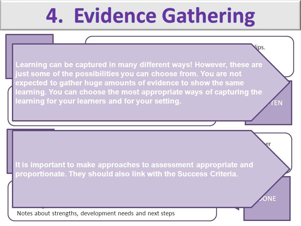 4. Evidence Gathering SAID