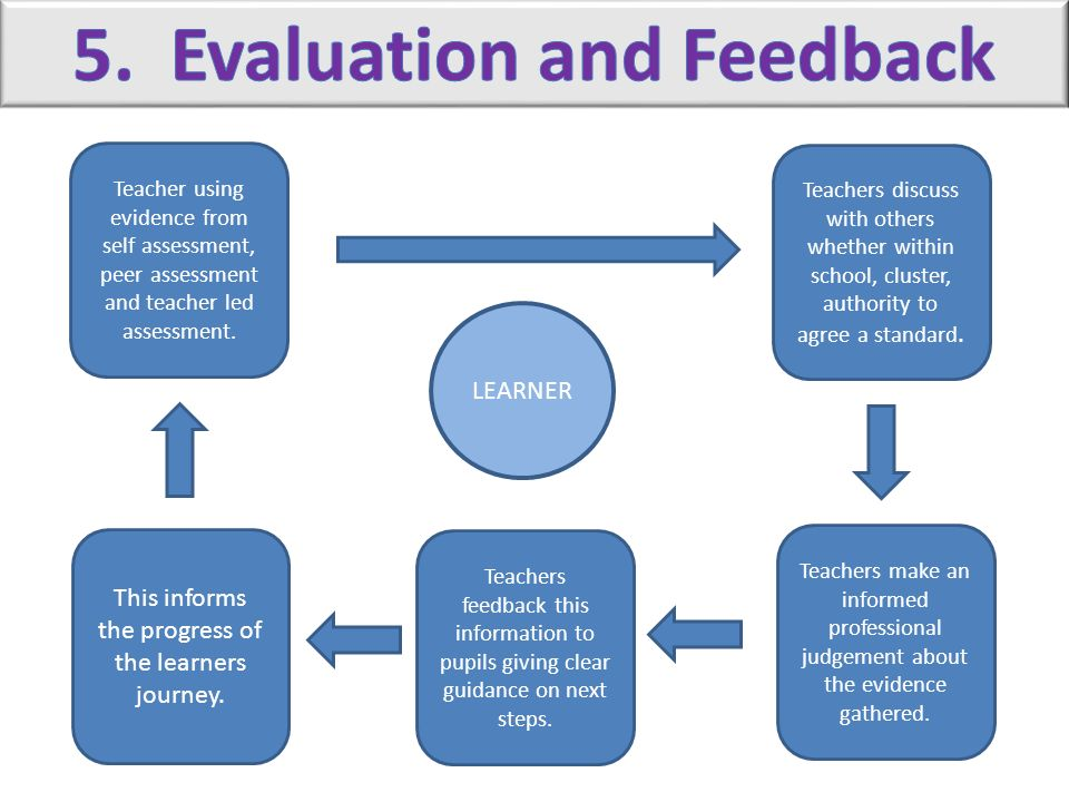 5. Evaluation and Feedback