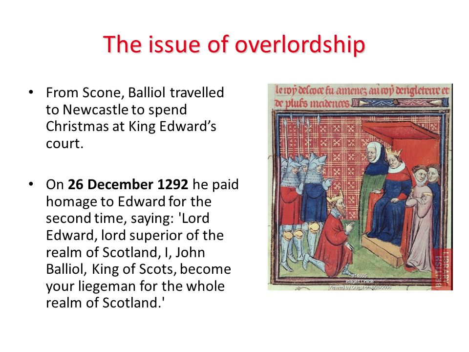The issue of overlordship