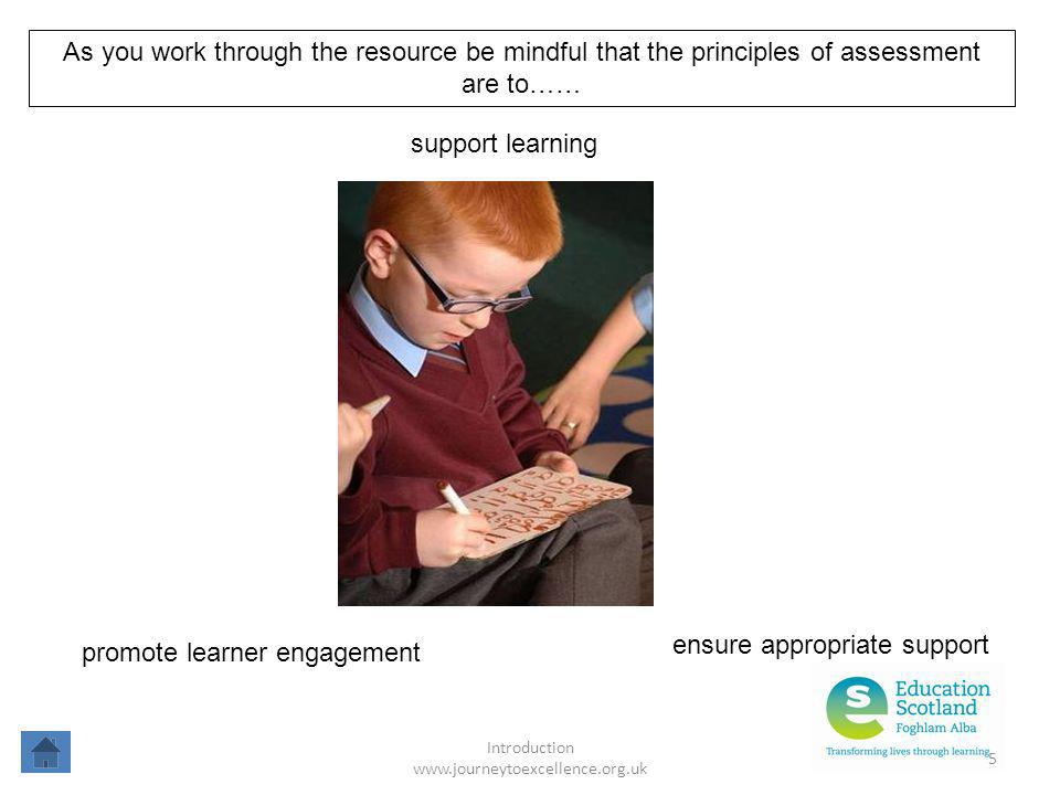 ensure appropriate support promote learner engagement