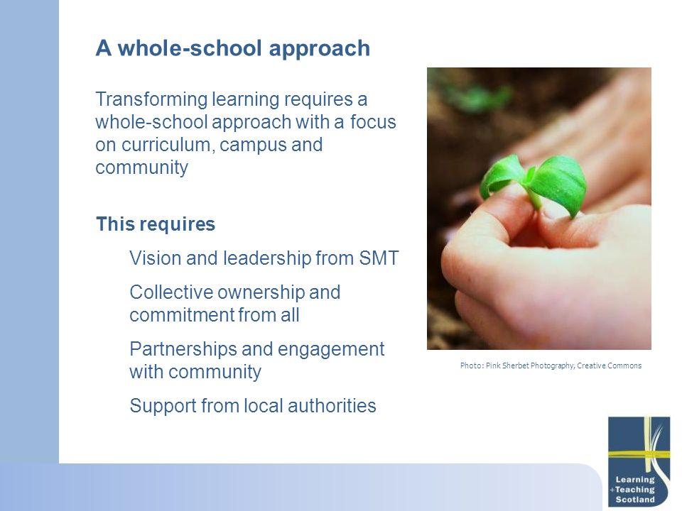A whole-school approach