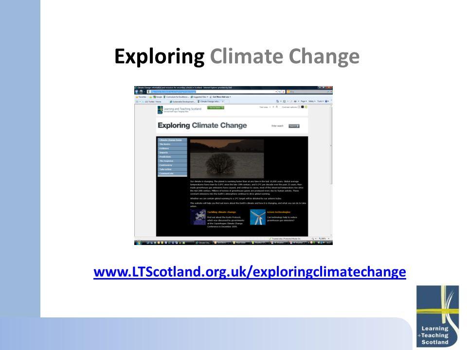 Exploring Climate Change