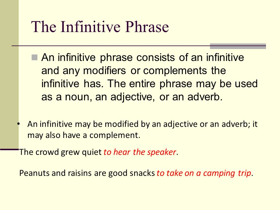 The Phrase Prepositional Verbal And Appositive Phrases