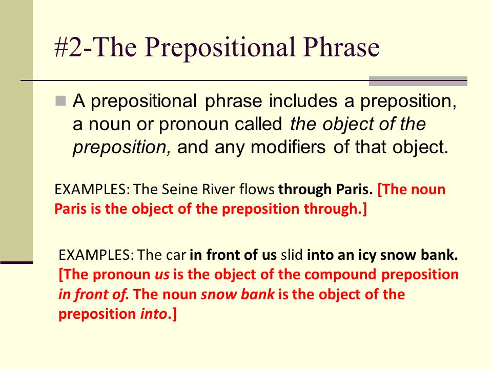 The Phrase Prepositional Verbal And Appositive Phrases Ppt Video Online Download