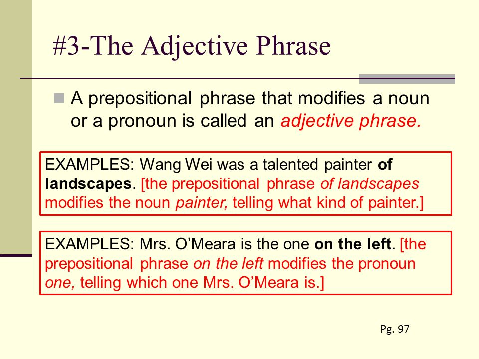 The Phrase: Prepositional, Verbal, and Appositive Phrases ...