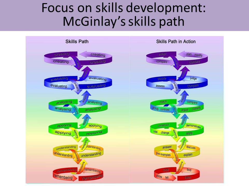 Focus on skills development: McGinlay's skills path