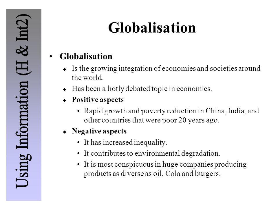 Globalisation Globalisation