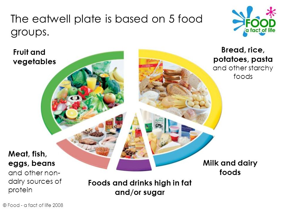 The Eatwell Plate 169 Food A Fact Of Life Ppt Video Online