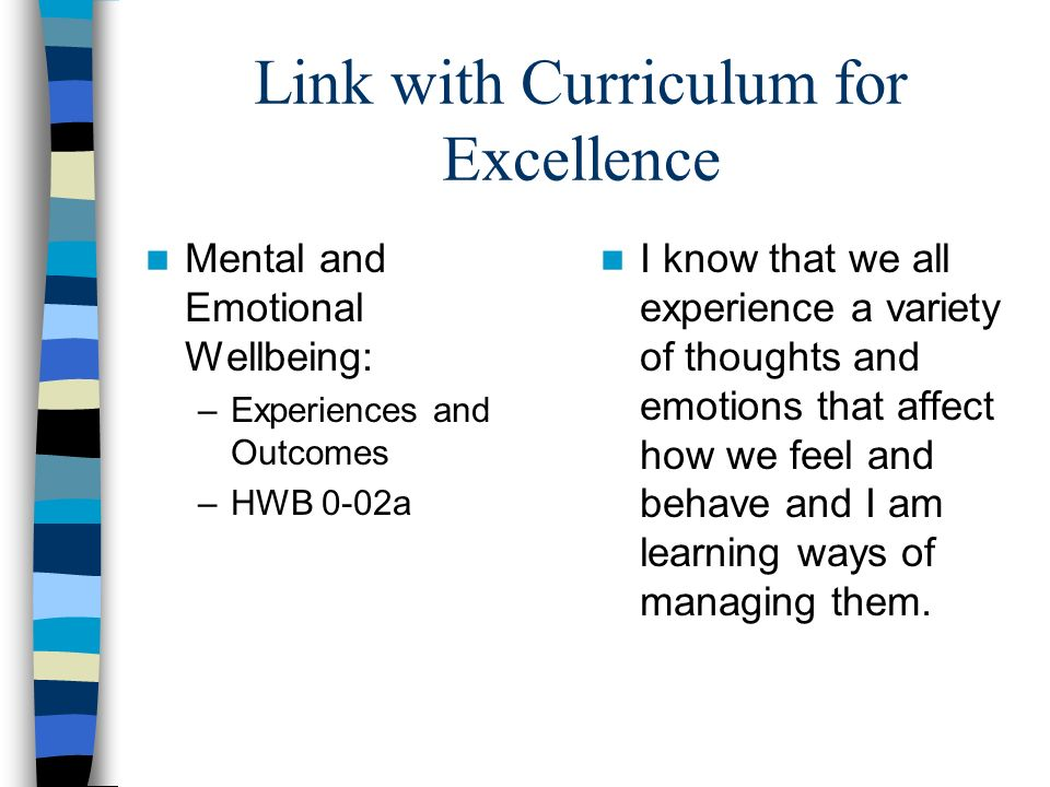 Link with Curriculum for Excellence