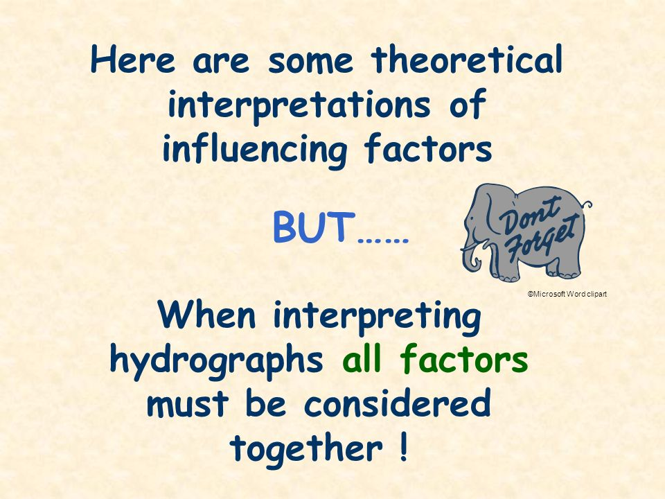 Here are some theoretical interpretations of influencing factors