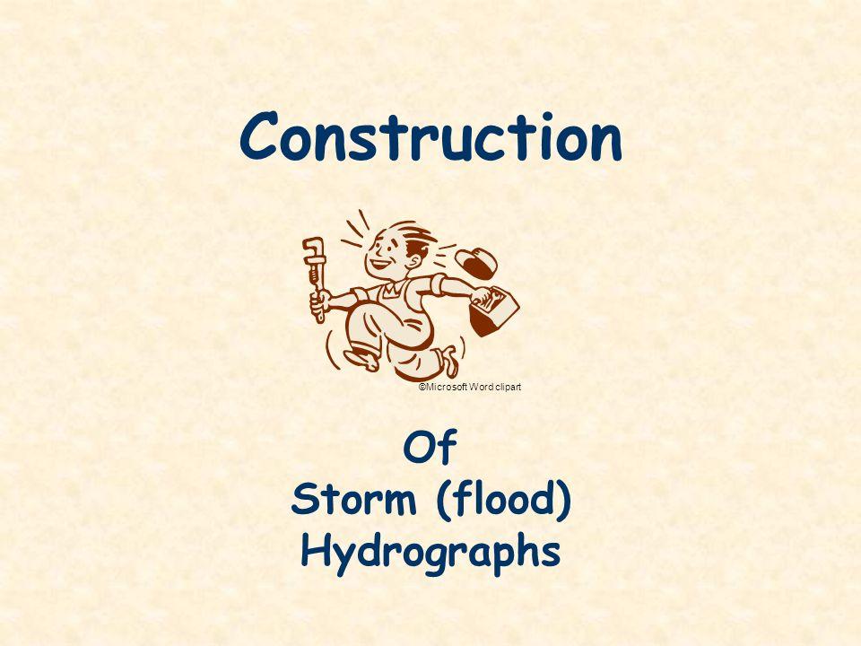 Storm (flood) Hydrographs