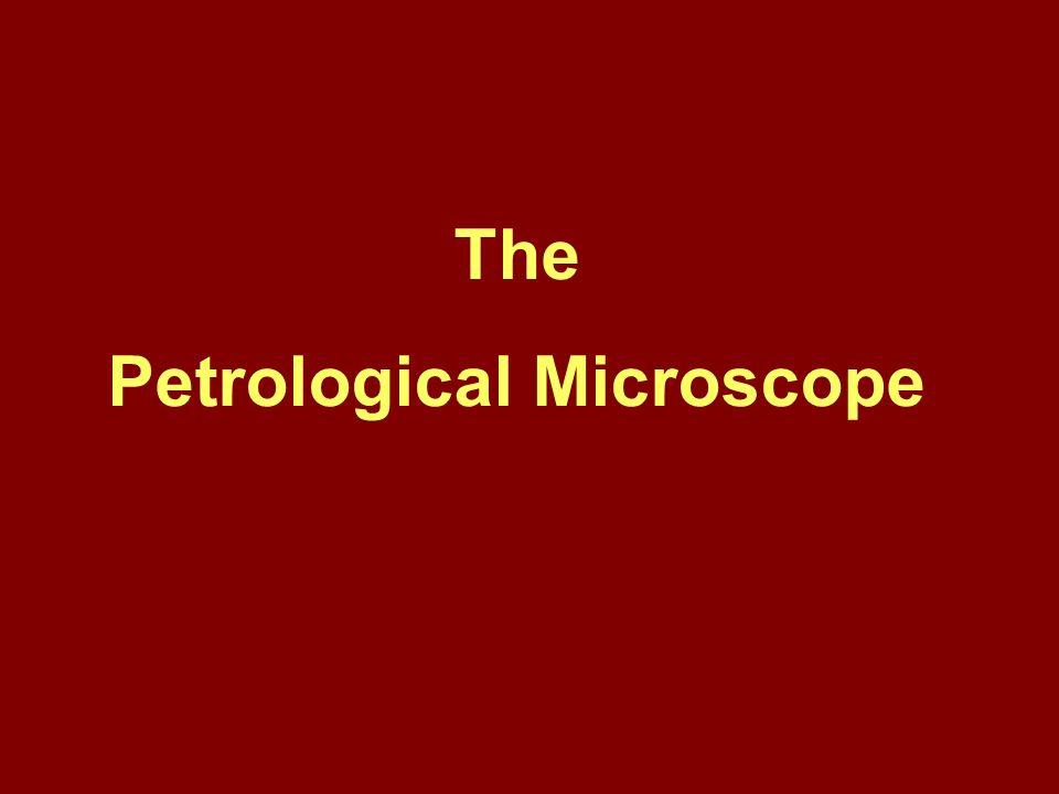 Petrological Microscope