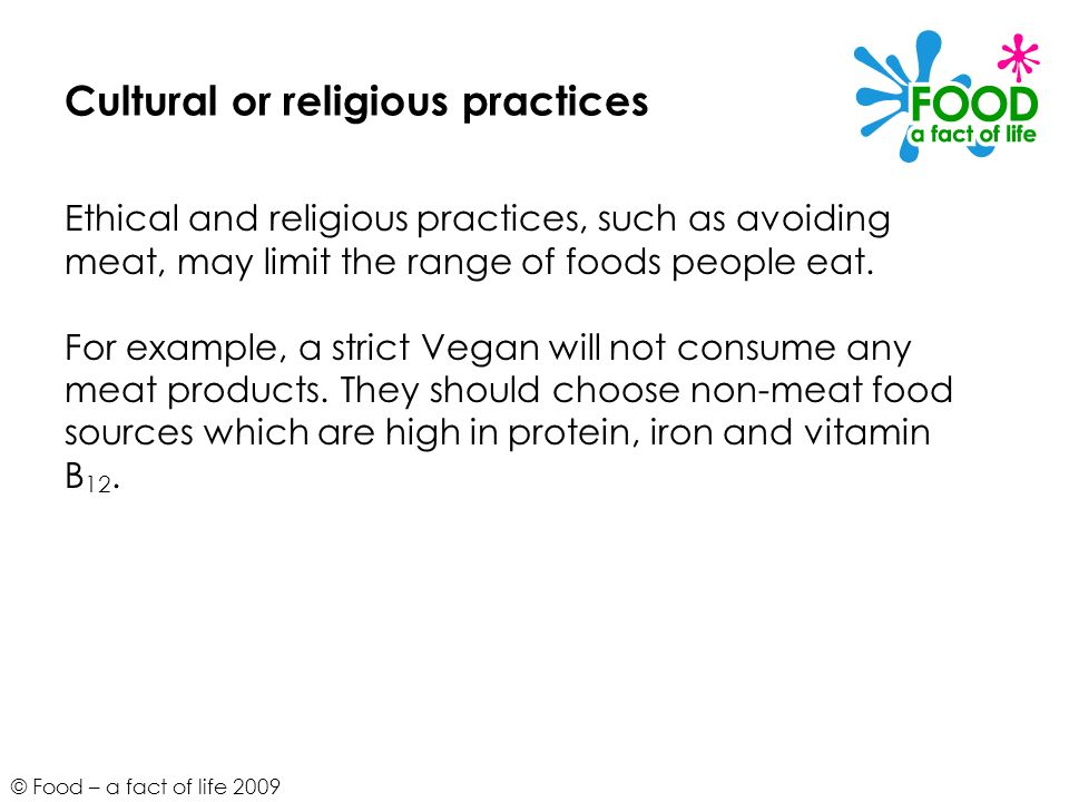 Cultural or religious practices