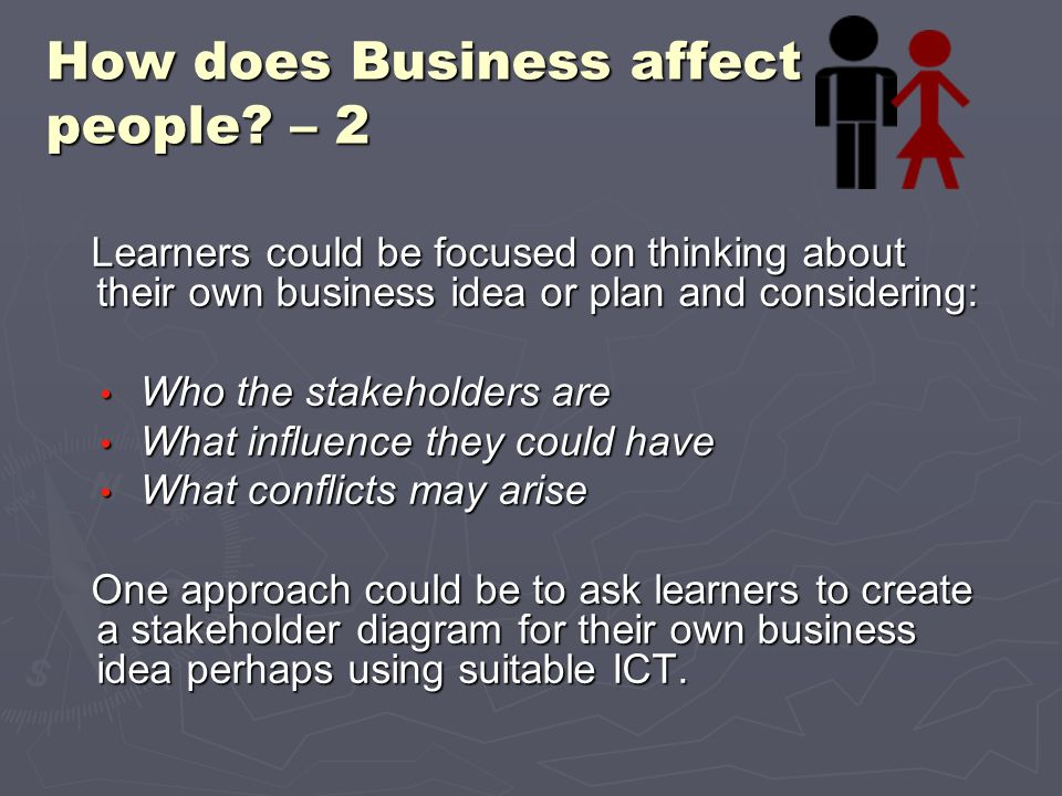 How does Business affect people – 2
