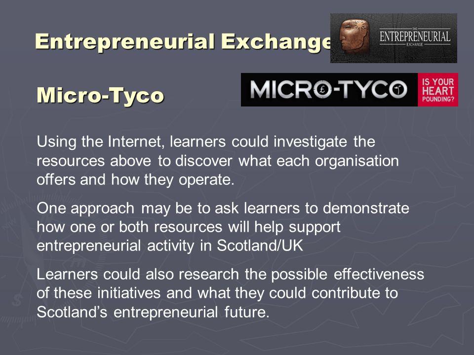 Entrepreneurial Exchange